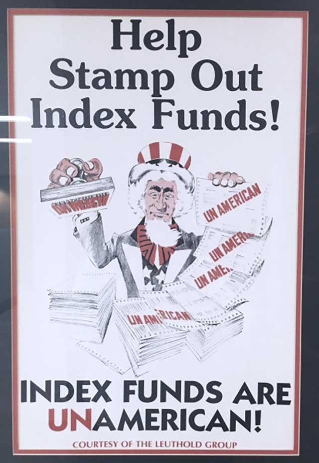 Fondos Indexados - Anti-americanos