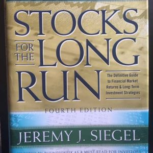 Stocks for the Long Run - Jeremy J. Siegel
